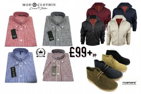 MENS THREE PIECE HARRINGTON COMBO - harrington offer